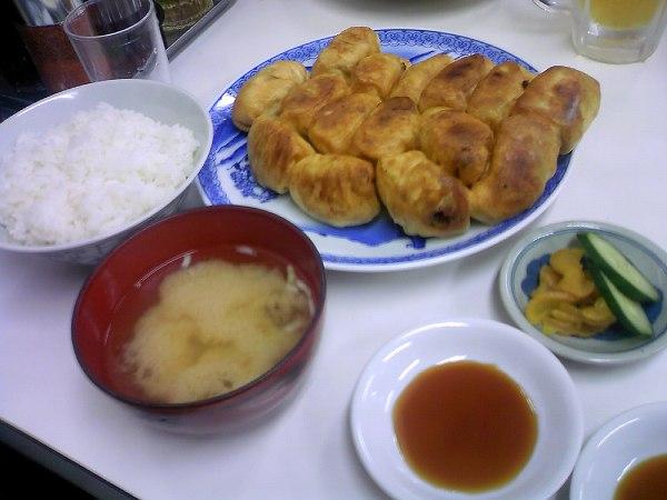 ファイト餃子teishoku
