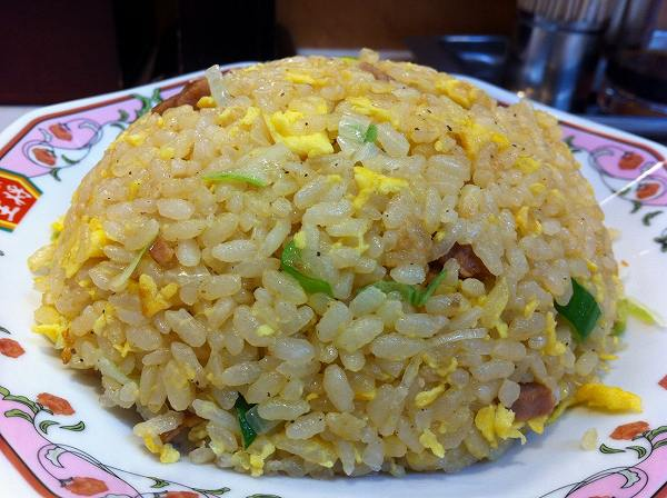 餃子の王将 fried rice