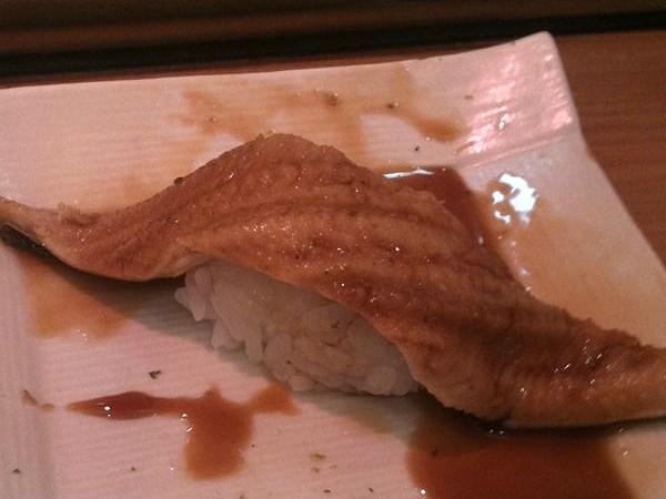 立ち食いちよだ寿司築地店 anago 1