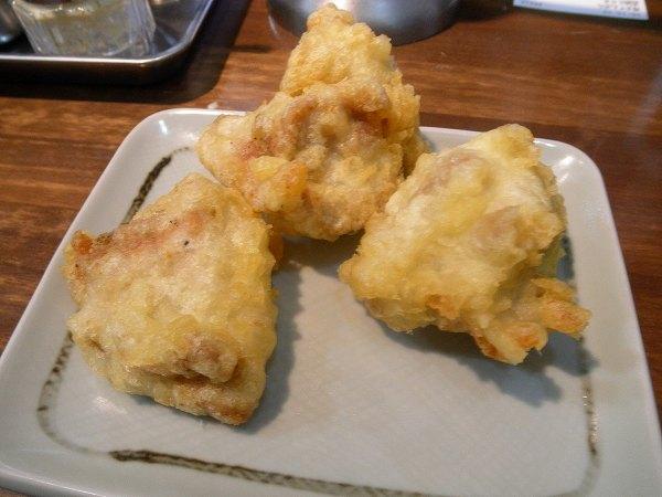 鶏天単品100円