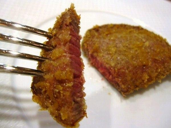 かわむら beef cutlet