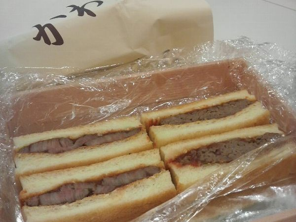 かわむら steak sandwitch