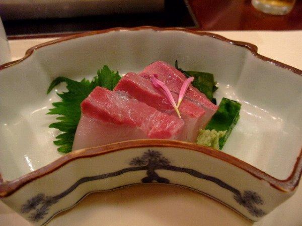 梅の花 sashimi