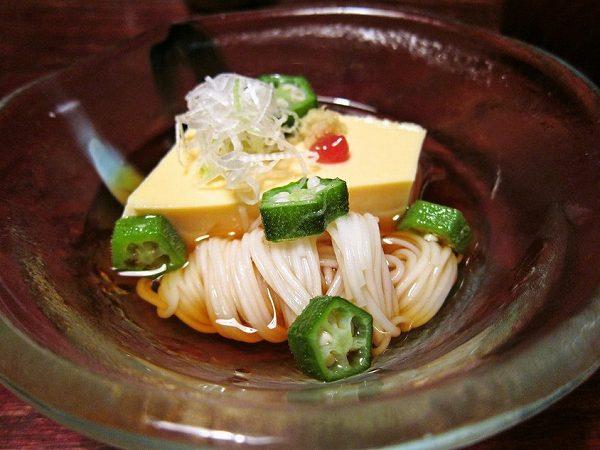 いし橋 卵豆腐&素麺