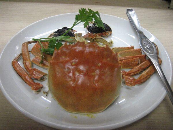 萬来園 上海カニ