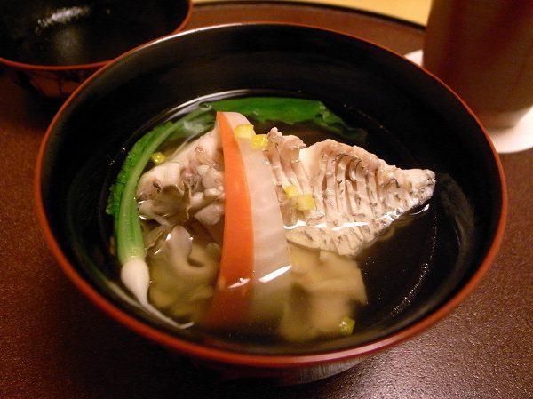 小十 真鯛の煮麺