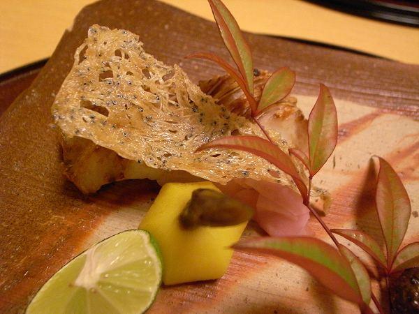 小十 甘鯛の塩焼き