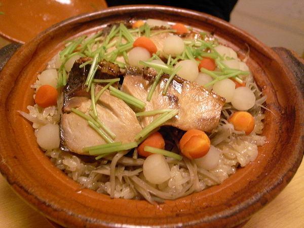 小十 寒鰤の炊き込みご飯 1