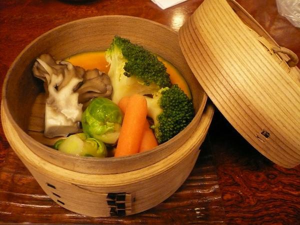 更科堀井 温野菜盛り