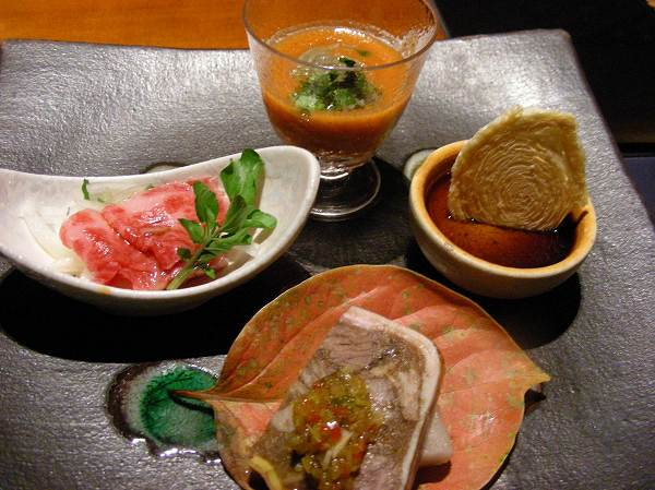 季楽 Assorted Appetizer