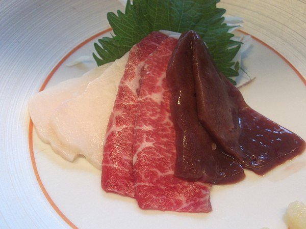 季楽 さくら肉のお刺身