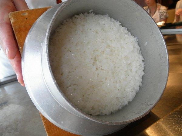季楽 釜炊き新米