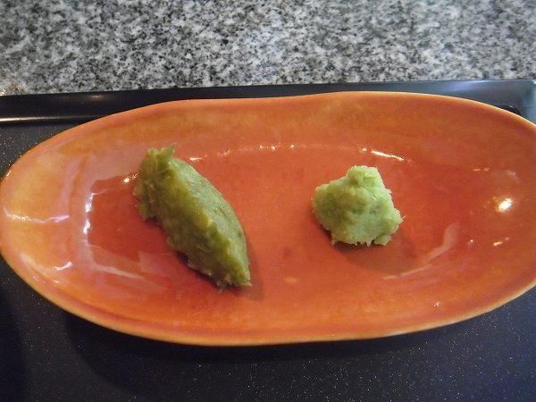 季楽 薬味(ゆず胡椒とわさび