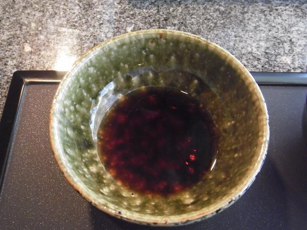 季楽 薬味(ニンニク醤油)