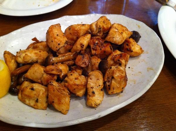 ぶち旨屋 鶏肉の鉄板焼き
