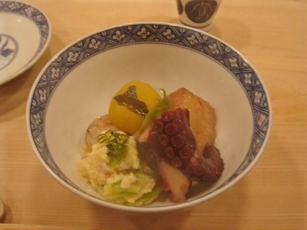 京味 いとこ煮:蛸、小豆、南瓜、小芋