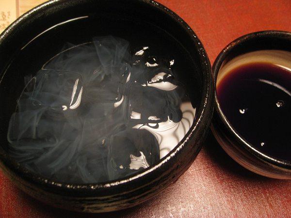 京味 葛切り黒蜜