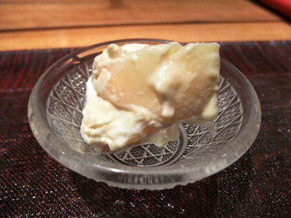 食幹 桃の白和え