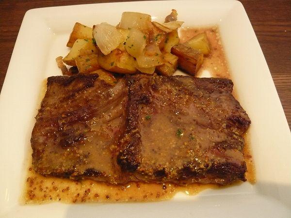 ABASQUE 牛ハラミ肉のステーキ
