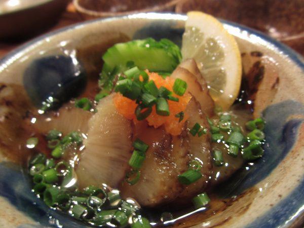 東京うりずん ナマコの酢の物