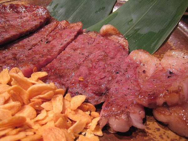 門次郎 steak