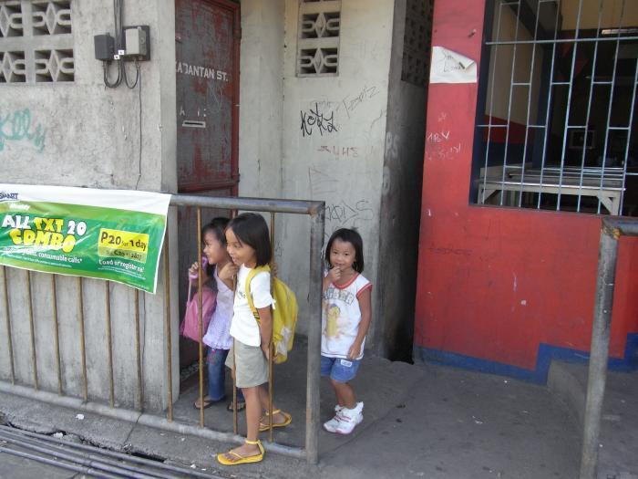 フィリピンの子供2
