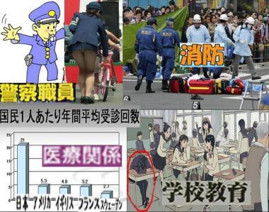 日本の警察 消防 学校教育 医療関係は地方の自治体が行政サービスをみるべきである:完全無修正写真画像
