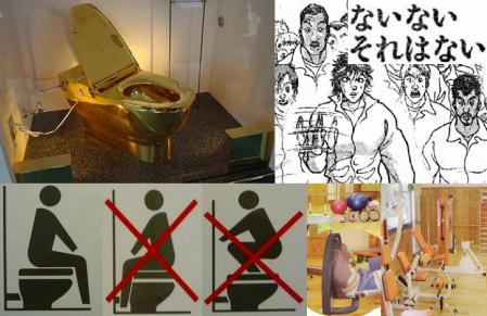 おもしろ画像で民主党議員の黄金トイレとトイレの座り方禁止事項に近所の私が現場監督した老人介護施設のパート員募集に応募したが駄目ぽの完全無修正デジカメ編集写真画像