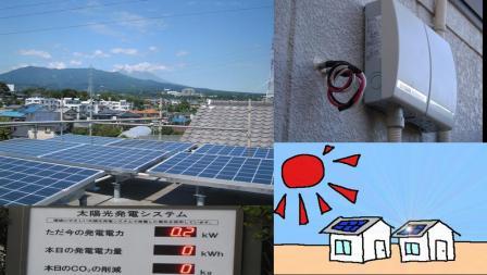 太陽光発電システム画像