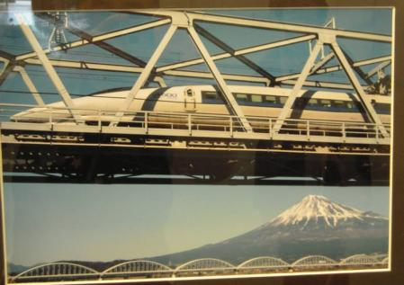 富士山と新幹線500系のぞみのラストラン完全無修正写真