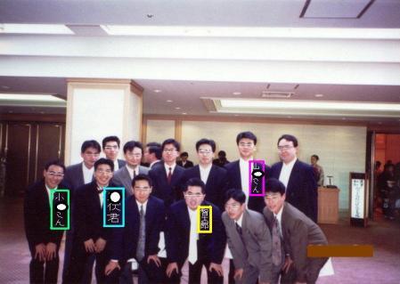 ○津結婚式にて集う元学生部員