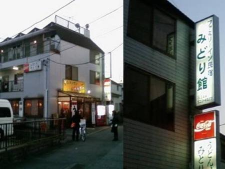 川崎市のファミリー民宿 ファミリー旅館 みどり館に到着:完全無修正デジカメ編集写真