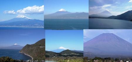 富士山撮影で大瀬崎や井田や仁科峠や本栖湖からの絶対的な完全無修正デジカメモロ写真画像
