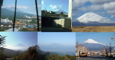 富士山の写真靜岡県東部地方より御殿場市 富士市 沼津市からの完全無修正デジカメ写真