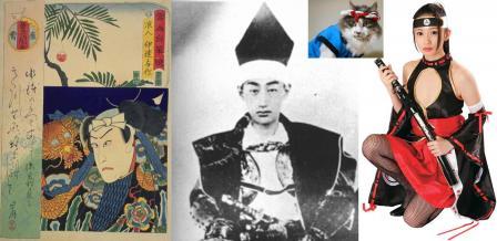 頭痛を防いだのか 昔の殿様や武士はハチマキをしていたのです写真