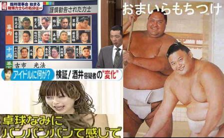 酒井法子は離婚だし相撲業界は暴力団組織と組んでるしの完全無修正写真