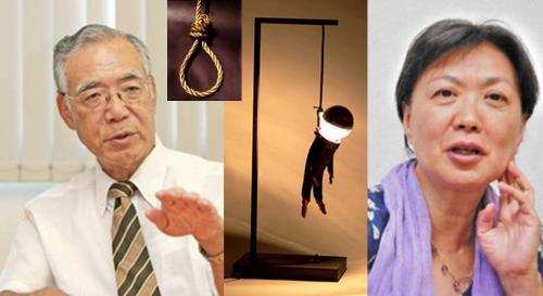 死刑制度について討論する弁護士