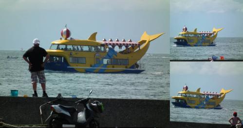 駿河湾フェリーを目撃