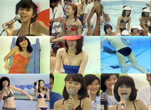 ピンクレディーも参加したアイドル水泳大会で以前はよくあった