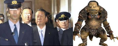 小沢一郎元代表の正体は裏政界のボスで起訴連行されているのです