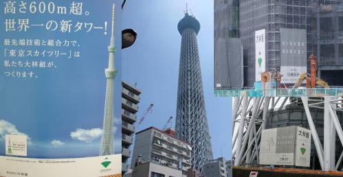 東京スカイツリーは世界一の新タワーである最先端技術を駆使する大林組である