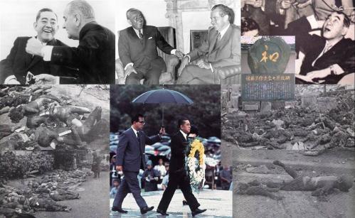 武器輸出三原則を表明した佐藤栄作総理の昭和42年の写真です