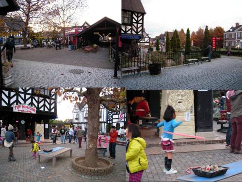 修善寺伊豆 虹の郷に入場し賑やかな風景を撮った