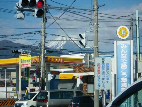 富士山を眺めつつ靜岡県東部地方から伊豆へドライブ写真です