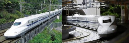 新幹線のぞみ700系の写真