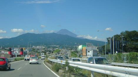 沼津市で見えた富士山をデジカメ写真