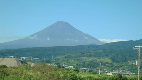 富士山デジカメ写真で富士市から撮りました