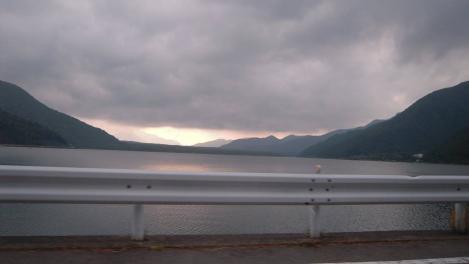 富士五胡の西湖のデジカメ写真画像