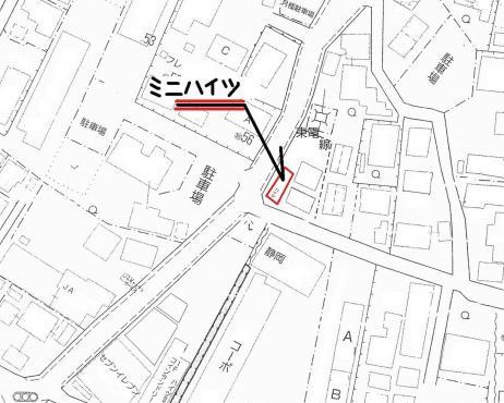 ゼンリンから編集した靜岡県東部地方の地図