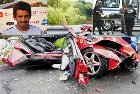 ウルグアイの名門サッカーチームに所属する選手が車の事故で脳挫傷で重傷